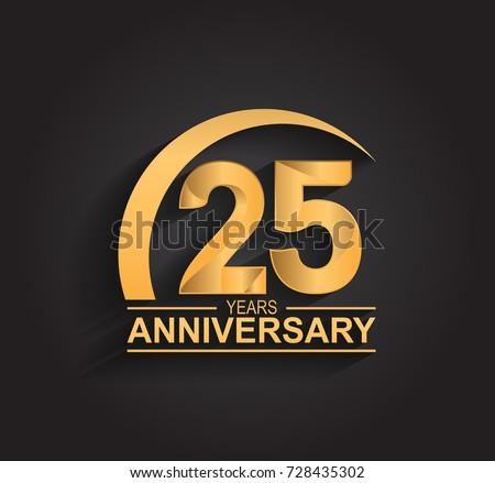 25 years anniversary logo free download
