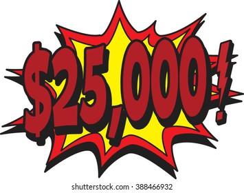 25K money
