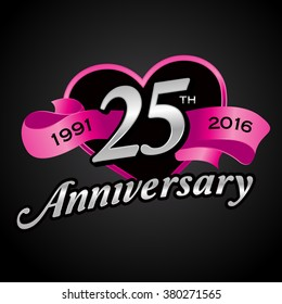 25th Wedding Anniversary Images Stock Photos Vectors Shutterstock