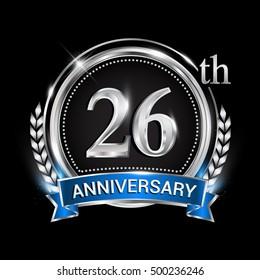 26 Anniversary Images Stock Photos Vectors Shutterstock
