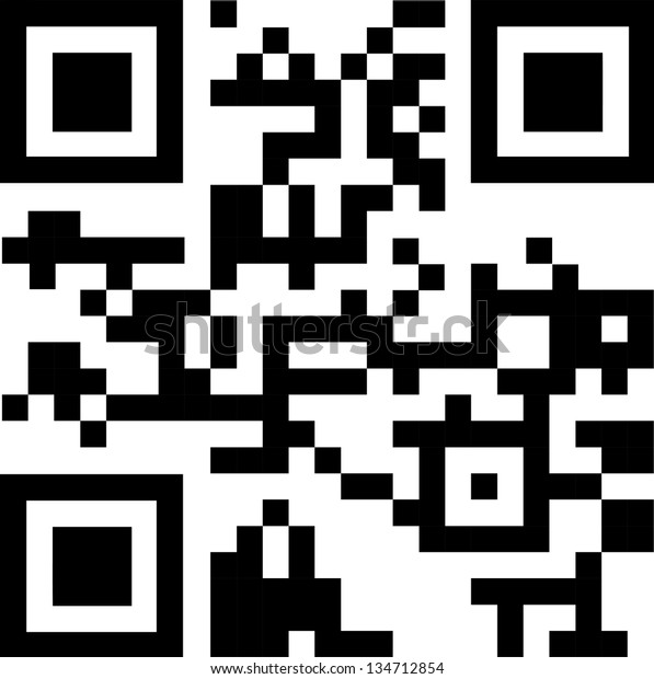 2d Barcode Vector Illustration Stock Vector (Royalty Free