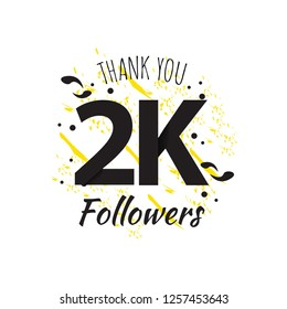 2K Thank You Followers