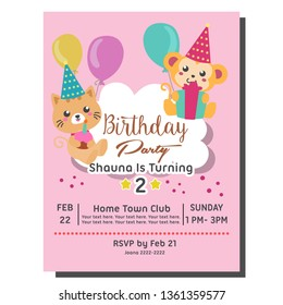 Kids Birthday Invitations Images Stock Photos Vectors