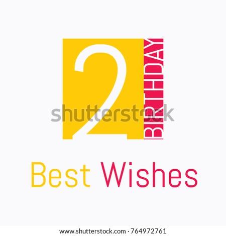 2nd Birthday Wish Logo