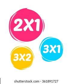 2X1, 3X1 & 3X2 Marks