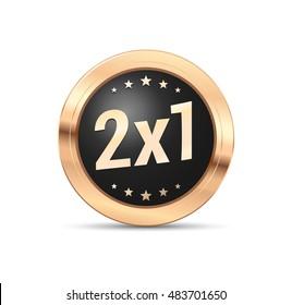 2x1 Badge