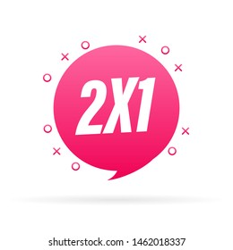 2X1 Half Price Commercial Tag