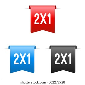 2x1 Labels