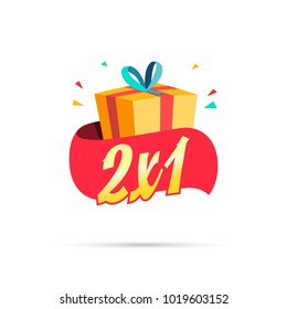 2X1 Offer Shopping Gift Box
