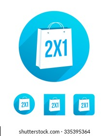 2x1 Shopping Bag