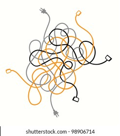 Phenomenal Wires And Cables Images Stock Photos Vectors Shutterstock Wiring 101 Israstreekradiomeanderfmnl