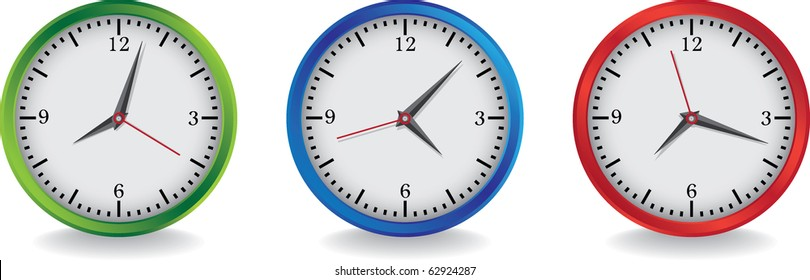 3 color clocks