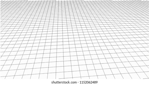3 Dimensions grid line for 3D design and can be use for geometric background or drawing using grid line for guiding easy for making line or curve from grid to grid point to point on white background.