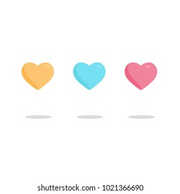 3 Hearts Vcetor