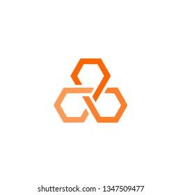 3 hexagons unity