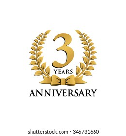 3 year anniversary images stock photos vectors shutterstock