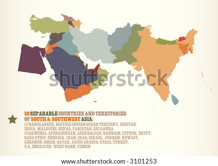 30 countries territories of