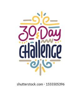 30 Day Challenge Images Stock Photos Vectors Shutterstock