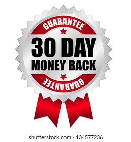 30 day money back button