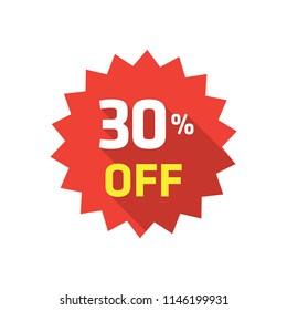 30% LABEL DISCOUNT