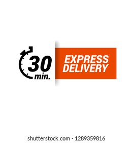 30 minutes Express Delivery