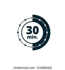 30 Minutes Time illustration