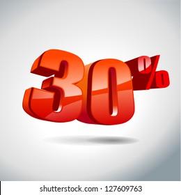 30 percent sale