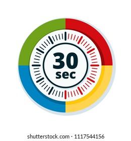30 Seconds Time illustration