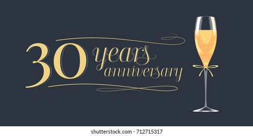 Years anniversary vector icon banner stock vector hd royalty