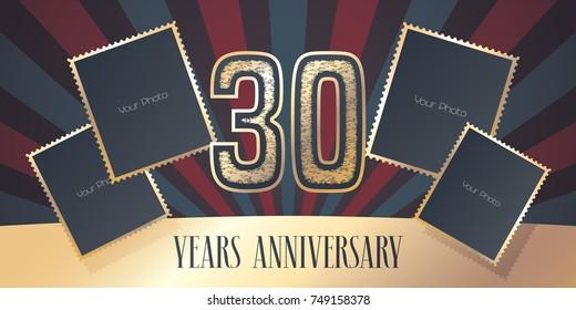 Years anniversary vector icon logo stock vector hd royalty free