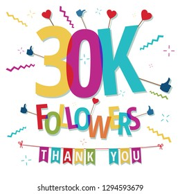 30000 followers thank you