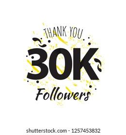 30K Thank You Followers