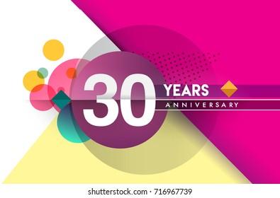 Anniversary logo free vector download free vector art stock