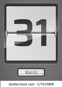 31 march