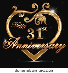 31st Anniversary Images Stock Photos Vectors Shutterstock