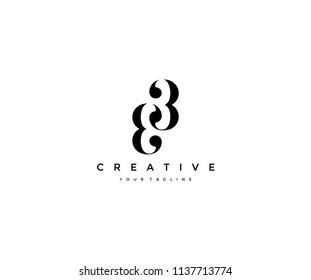 33 Minimalist Elegant Linked Logo Design