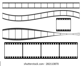 35 mm film strip set