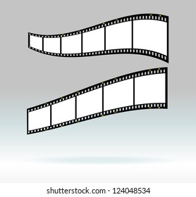 35 mm filmstrips, blank photo frames, free space for your pix