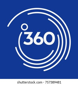 360 vector corporate logo