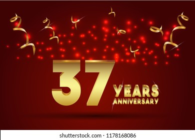 37th Anniversary Images Stock Photos Vectors Shutterstock