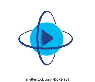 3D 360 Video Icon