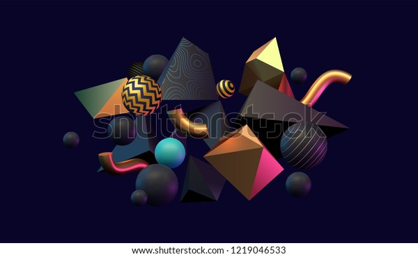 3d-abstract-black-gold-teal-600w-1219046