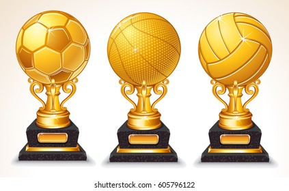 Basketball Trophies Stock Illustrations, Images & Vectors