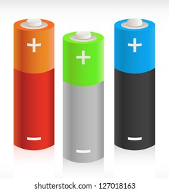 3D Batteries - Portable Energy Storage Concept Picture