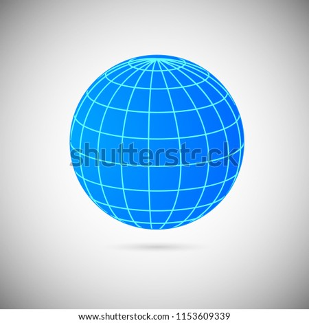 40 D Decorative Balls Striped Spheres Isolated Stock Vector Royalty Classy Decorative Globe Balls