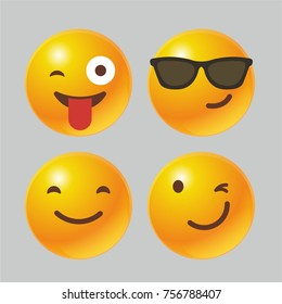 3D emoji icon