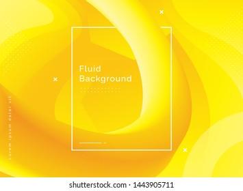 3d Fluid shape illustration. Liquid color shapes, Trendy abstrac background, Futuristic design background. Creative design 3d flow shape. Liquid wave backgrounds. Vector illustration