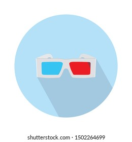 3d glasses icon - From Movie and film icons set