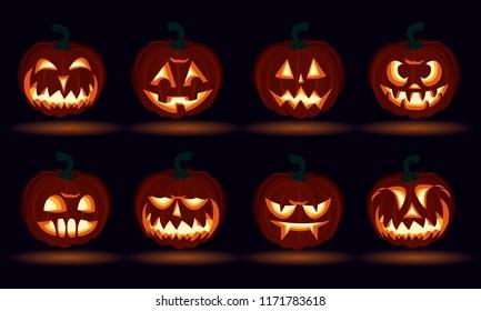 Scary Pumpkin Images Stock Photos Vectors Shutterstock