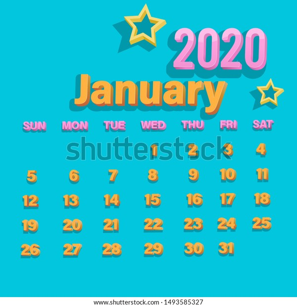 3d Happy New Year January 2020  Miscellaneous, Backgrounds